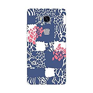 HUAWEI HONOR 5X Cover, Premium Quality Designer Printed 3D Lightweight Slim Matte Finish Hard Case Back Cover for Honor 5x - Giftroom-843