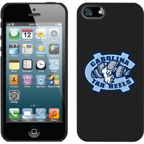 Special Sale North Carolina Ram Logo design on a Black iPhone 5s / 5 Thinshield Snap-On Case by Coveroo