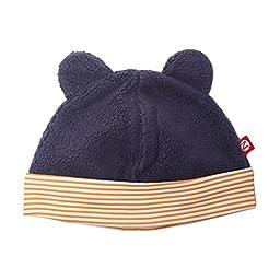 Zutano Cozie Fleece Hat - Navy - 6M
