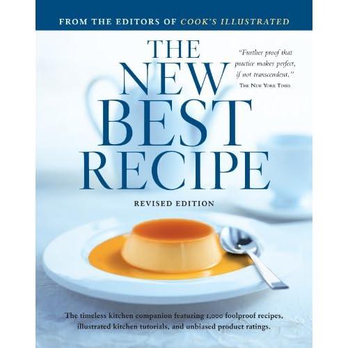 The New Best recipe cookbook cover