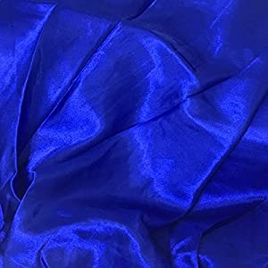 0b87a422ae Backgarden Satin Long Swing Skirt Blue Belly Dance Satin Long Dress Elastic  Waistband Design Great Stage Effect