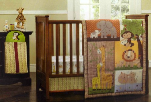 Kidsline Mommy And Me 4 Piece Crib Set back-1072413