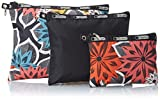 LeSportsac 3 Piece Travel Set Handbag