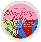 Bomb Cosmetics Strawberry Fields Shower Polish 375ml