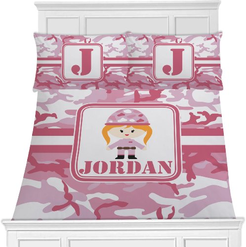 Pink Camo Bedding Twin 288 front