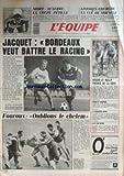 Pochette Bordeaux EQUIPE   du 20/03/1987