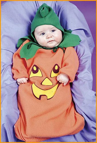 Pumpkin Baby Bunting Costume back-1032739