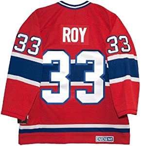 Buy Montreal Canadiens Patrick Roy Vintage Red CCM Jersey by CCM