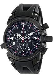 Oakley Men's 10-061 12 Gauge Chronograph Stealth Black Watch