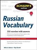 img - for Schaum's Outline of Russian Vocabulary (Schaum's Outlines) by Rakova, Alfia, Parrott, Ray J. (February 21, 2011) Paperback book / textbook / text book