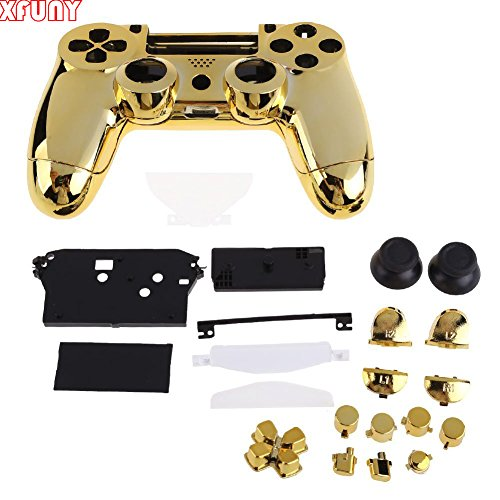 XFUNY-Housing-Game-Front-Back-Controller-Shell-Polished-Glossy-Case-Cover-Protective-Skin-Replacement-Part-for-Sony-PlayStation-4-PS4-Controllers