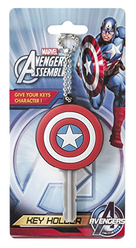 Marvel Captain America Shield Soft Touch PVC Key Ring