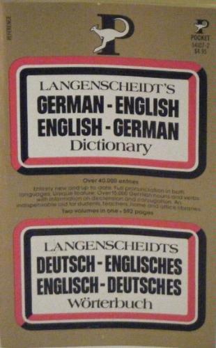 Langenscheidt's German - English, English - German Dictionary