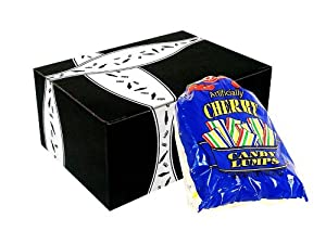 Bob's Cherry Candy Lumps, 1lb and 1oz Bag Packed in Gift Box
