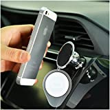 Nochoice Gennation 8th.! Magnetic Car Mount (No Need to Leave Magnet on Your Phone)- For All Phone Sizes!