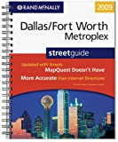 Rand McNally 2009 Dallas/Fort Worth Metroplex, Texas street guide