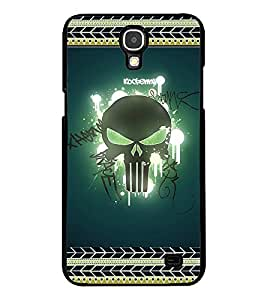 Printvisa 2D Printed Skull Designer back case cover for Samsung Galaxy Mega 2 G750F- D4183