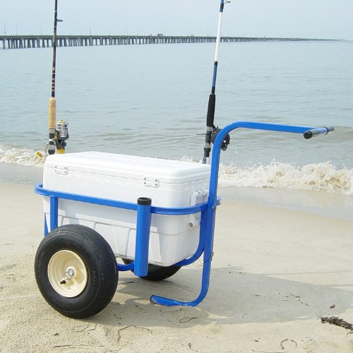 Beach buddy images frompo 1 for Beach fishing carts