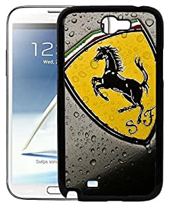 FCS Printed 2D Designer Hard Back Case For Samsung Galaxy Note II N7100 With Universal Mobile Stand