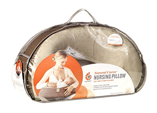 Ergobaby Natural Curve Nursing Pillow Brown - 1
