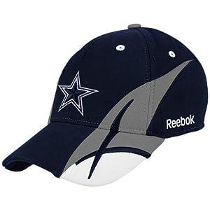 Reebok dallas cowboys navy blue pitchfork for Dallas cowboys fishing hat