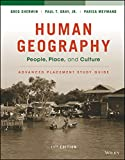 img - for Human Geography: People, Place, and Culture, 11e Advanced Placement Edition (High School) Study Guide book / textbook / text book