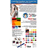 4 Yards Siser EasyWeed Heat Transfer Vinyl (Mix & Match your favorite colors)