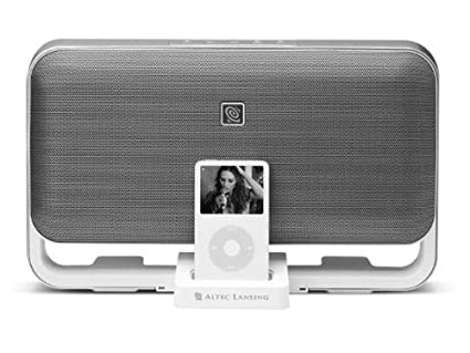 ALTEC LANSING inMotion M602 Loudspeakers for iPod with dock connector (iPod 3G, 4G, 5G, photo, mini, nano, touch, classic)