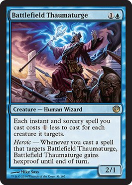 Magic: the Gathering - Battlefield Thaumaturge (32/165) - Journey into Nyx - 1