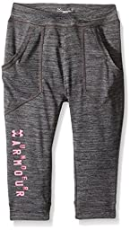 Under Armour Toddler Girls\' Chill Out Capri, Carbon Heather, 2T