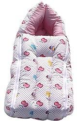 Amardeep and Co Baby Sleeping Bag Cum Baby Carry Bag (Pink) - CT-VWA5-BF45