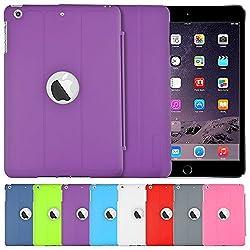 AirPlus AirCase Smart Hardback Protection with Cutout for Apple iPad Mini 3 (Purple)