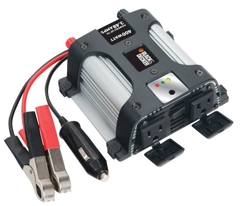 51ind0mU5pL. SL500  Black & Decker Power Inverter 400 Watt PI400AB