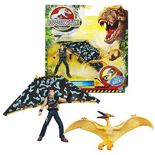 Jurassic Park Dino Trackers - Pteranodon vs. Sky Patrol Set - 1