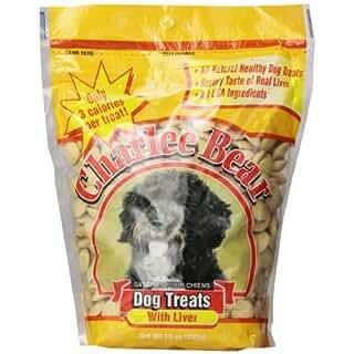 Charlee Bear Liver Dog Treat