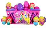 Pack of 18 Walt Disney Princess Candy Filled Plastic Eggs for Easter Basket by Needzo Gifts