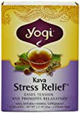 Yogi Tea Kava Stress Relief - Caffeine Free - 16 Tea Bags (Pack of 6)