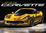 Art of the Corvette 2018: 16 Month Calendar Includes September 2017 Through December 2018