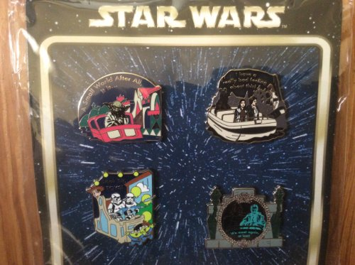 Disney Pin - Star Wars in the Park Booster Set - Pin Set 90216