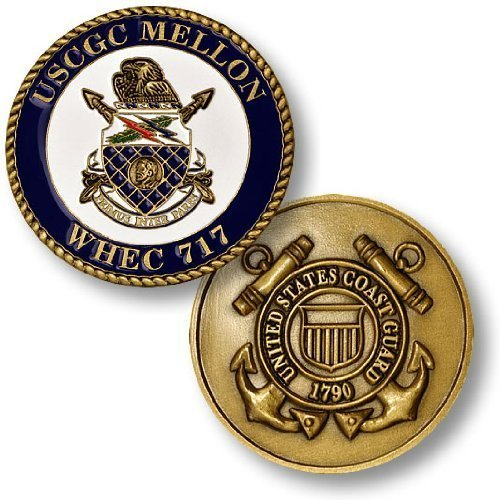 Coast Guard Cutter Mellon Challenge Coin
