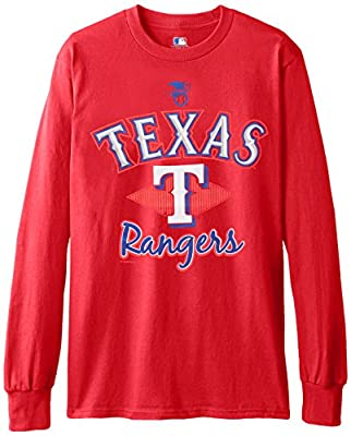 MLB Texas Rangers Men's 58T Long Sleeve Tee