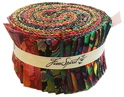 Kaffe Fassett COLLECTIVE SPICY Design Roll 2.5