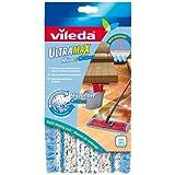 Vileda - Housse Micro & Coton pour Balai à Plat - Ultramax