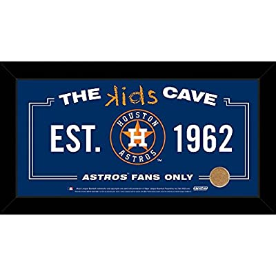 Wholesale Houston Astros 10x20 Kids Cave Sign w Game Used Dirt from Minute Maid Park, [Baseball, Miscellaneous]