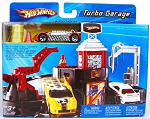 Hot Wheels Turbo Garage Mini Playset (H6289)