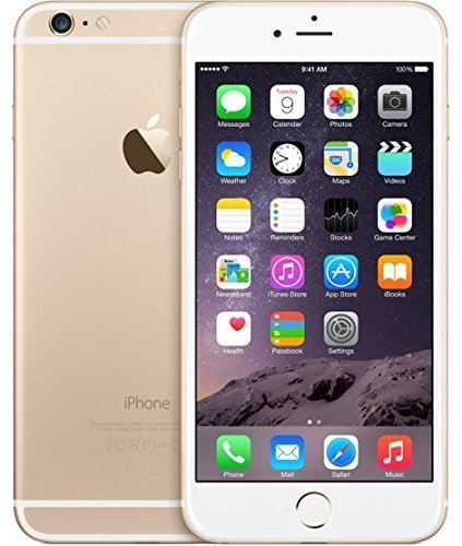 Apple discount duty free Apple iPhone 6 Plus 128GB Unlocked Smartphone - Gold (Certified Refurbished)