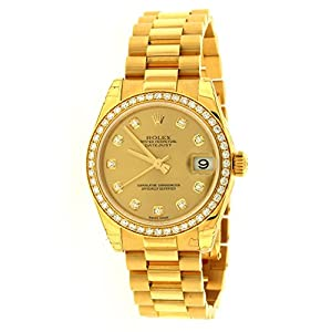 Rolex Lady Datejust Automatic White Dial 18k Yellow Gold Watch 179178WSO from Rolex