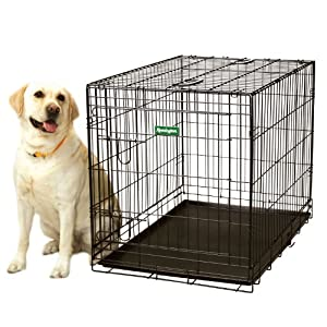 Remington Wire Kennel, Extra Large, 42-Inch L by 26-Inch W by 28.5-Inch H, Black