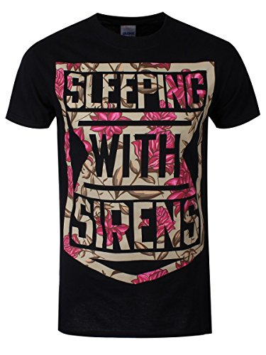 Sleeping with Sirens - Top - Stampa  - Uomo-Donna nero S