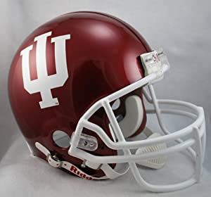 INDIANA HOOSIERS NCAA Riddell VSR-4 ProLine AUTHENTIC Football Helmet by ON-FIELD